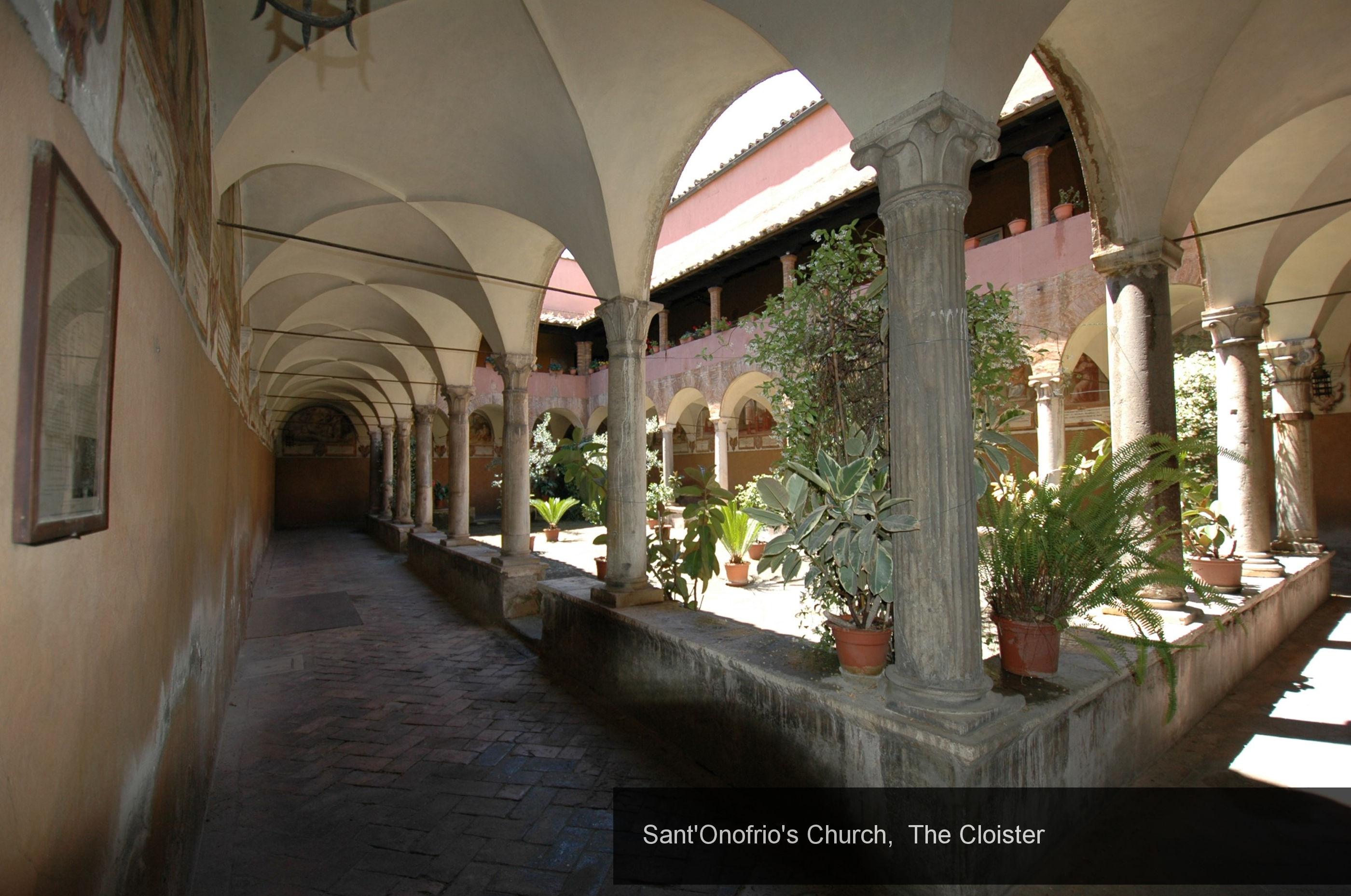 30) Cloister Church Sant'Onofrio