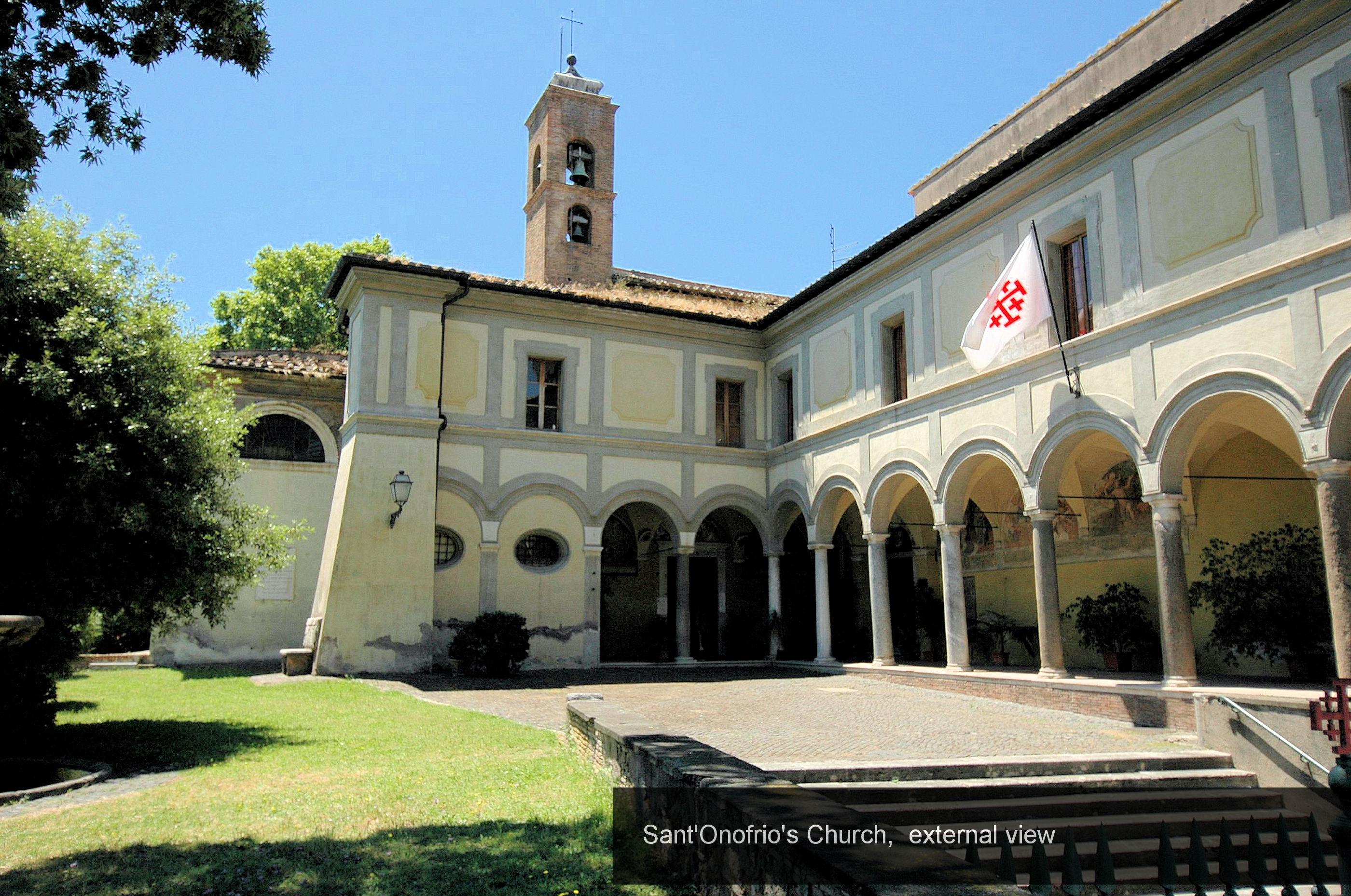 31) External Church Sant'Onofrio
