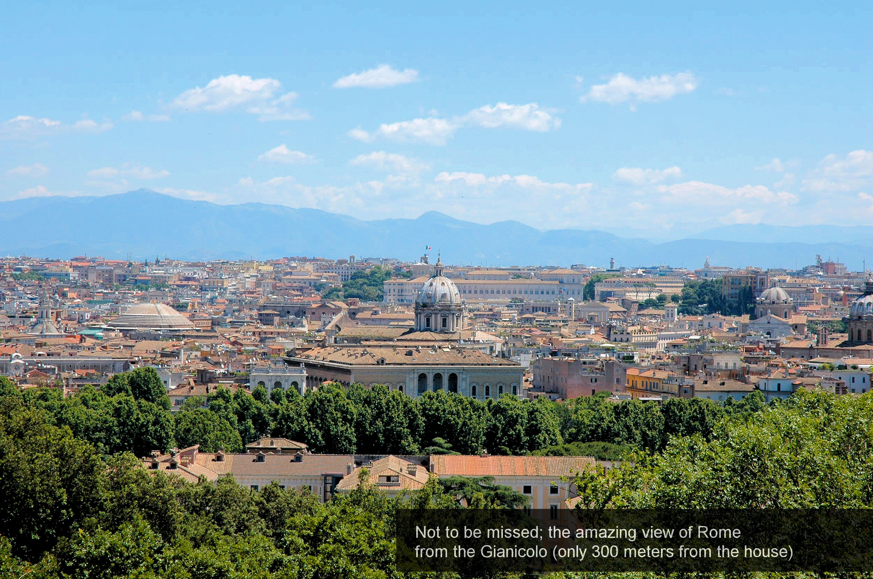 32) Not to be missed_ amazing view of Rome from the Janiculum (300 meter...