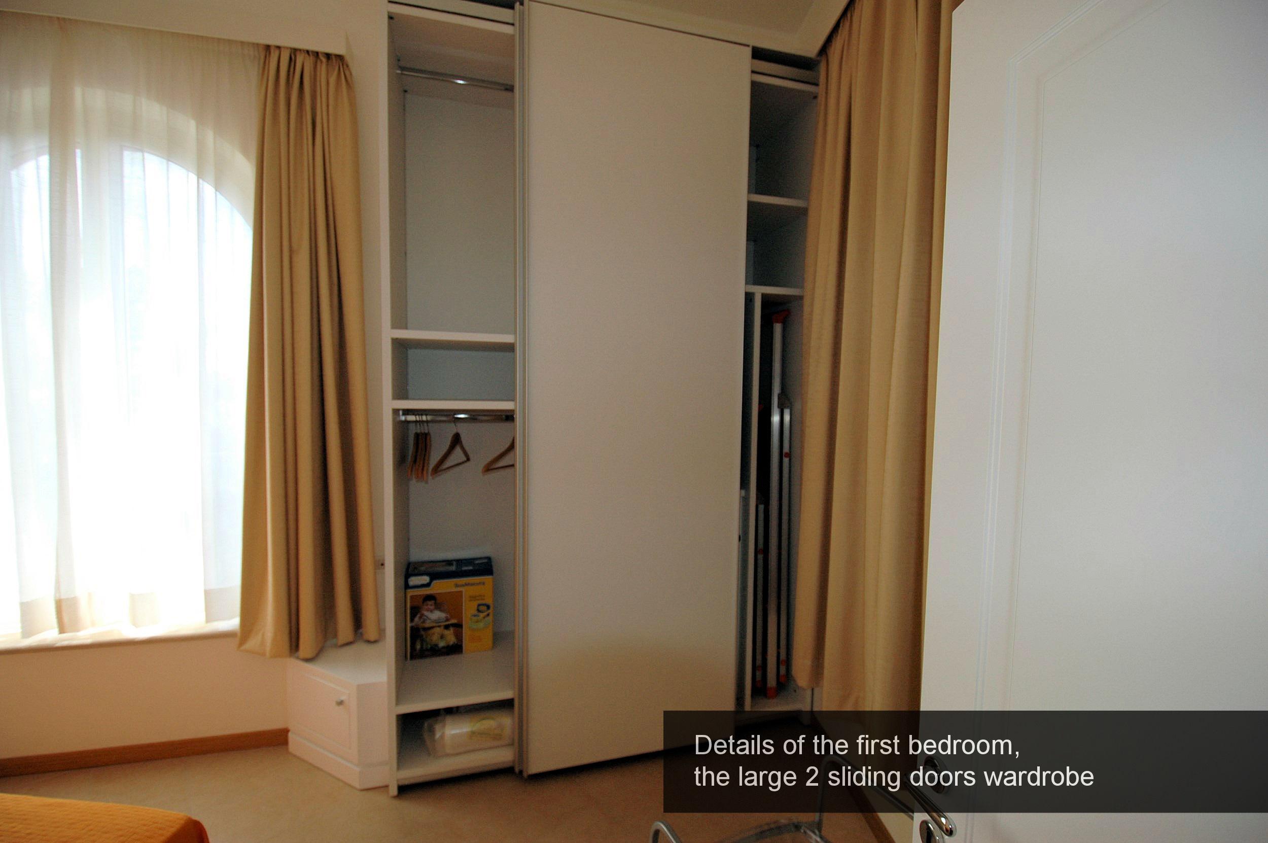 5) details, large wardrobe first bedroom